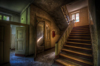 Doors Ans Stairs Print by Nathan Wright