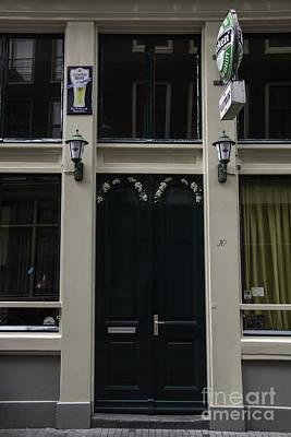 Grapevine Photograph - Doors Of Amsterdam 04 by Teresa Mucha