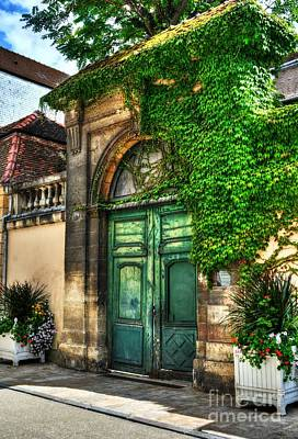 Stone Buildings Photograph - Doors Of Dijon 2 by Mel Steinhauer