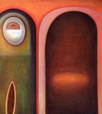 Doorway Print by Judith Chantler