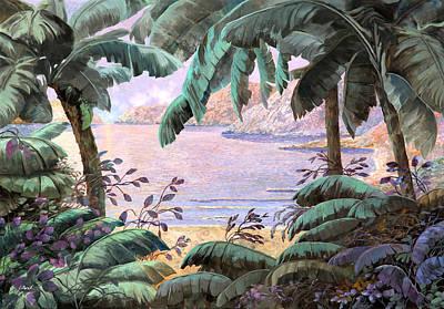 Jungle Painting - Dopo La Jungla Il Mare by Guido Borelli
