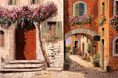Steps Painting - Doppia Casa by Guido Borelli