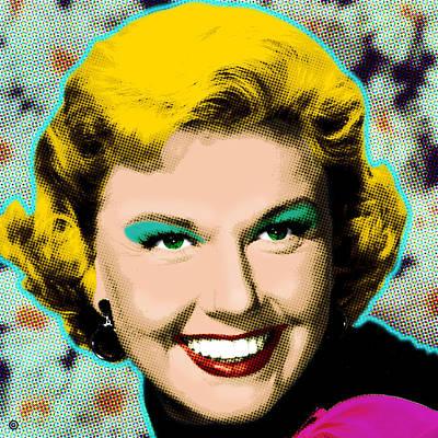 Doris Day Print by Gary Grayson