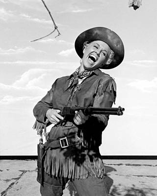 Doris Day In Calamity Jane  Print by Silver Screen