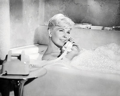 Doris Day In Pillow Talk  Print by Silver Screen