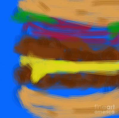 Dizzy Art Digital Art - Double Bypass With Cheese by James Eye