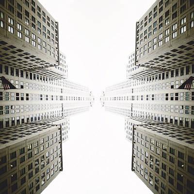 New York City Digital Art - Double Deco by Natasha Marco