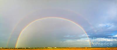 Double Rainbow Print by Jeremy Linot