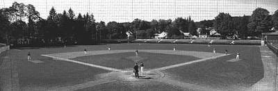 Little League Photograph - Doubleday Field Cooperstown Ny by Panoramic Images
