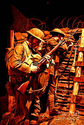 Doughboys  Print by Tommy Anderson