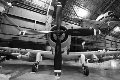 Old Aircraft Photograph - Douglas A1 Skyraider by Dan Sproul