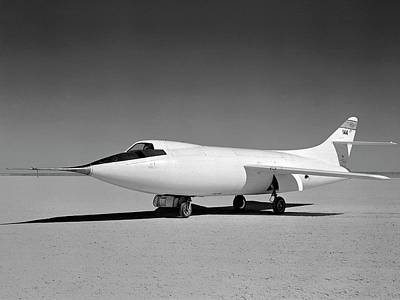 Highspeed Photograph - Douglas D-558-2 Skyrocket Test Plane by Nasa