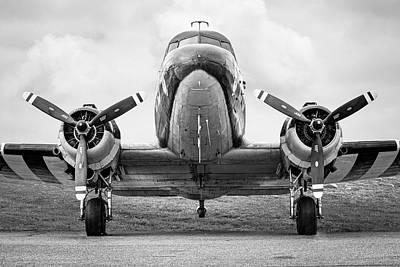 Douglass C-47 Skytrain - Dakota - Gooney Bird Print by Gary Heller