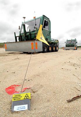 Dounreay Beach Radiation Monitoring Print by Public Health England