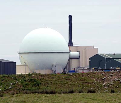 Dounreay Nuclear Reactor Print by Public Health England