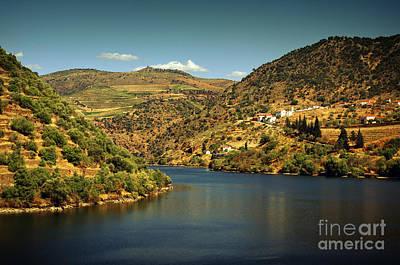 Douro Landscape Il Print by Carlos Caetano