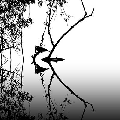 Dove Grey Print by Sharon Lisa Clarke