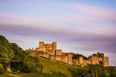 Castle Photograph - Dover Castle Sunset 3 by Ian Hufton