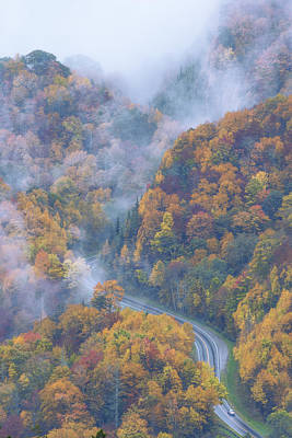 Great Smoky Mountain National Park Photograph - Down Below by Chad Dutson