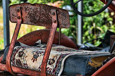 Magic Carpet Ride Photograph - Down On The Farm Magic Carpet Ride by Kathy Clark
