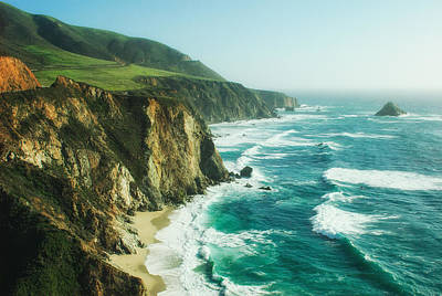 Down The Pacific Coast Highway... Print by Photography  By Sai