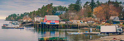 Downeast Print by Guy Whiteley