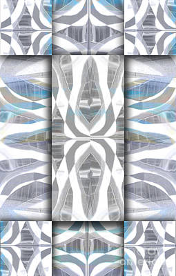 Abstract Composite Digital Art - Downtown 3 by Elena Nosyreva
