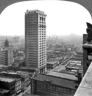 Townscape Photograph - Downtown Birmingham by Underwood Archives