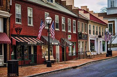 Americana Photograph - Downtown Jonesborough Tn by Heather Applegate
