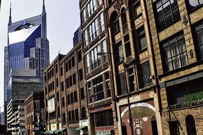Nashville Photograph - Downtown Nashville by Steven Newsom