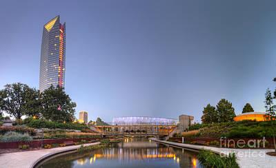 Oklahoma Photograph - Downtown Oklahoma City by Twenty Two North Photography