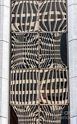 Downtown Reflection Print by Kate Brown