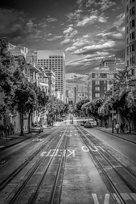 Downtown Area Photograph - Downtown San Francisco II by Erik Brede
