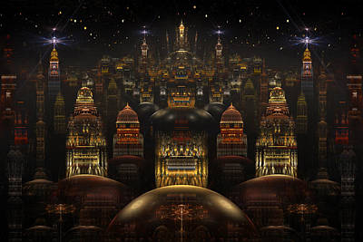 Phil Clark Digital Art - Downtown Venus by Phil Clark