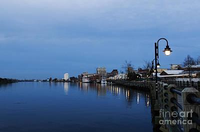 Downtown Wilmington Riverwalk Original by Beachy Keen Photography