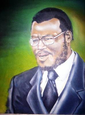 Dr Mangosuthu Buthelezi Original by Bongumusa  Hlongwa