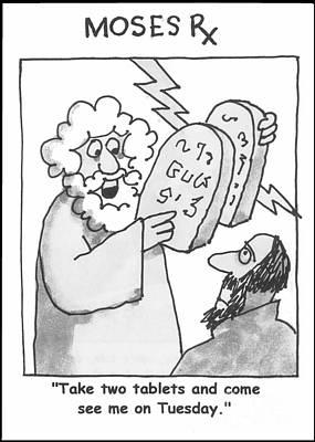 Dr. Moses Print by Robert Gumpertz