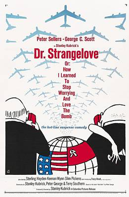 Sterling Hayden Photograph - Dr Strangelove by Georgia Fowler
