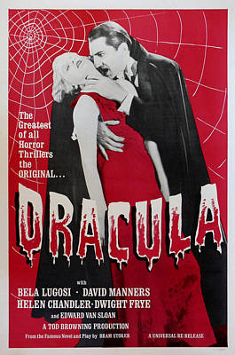 Dracula Print by Georgia Fowler