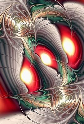 Artwork Digital Art - Dragon Den by Anastasiya Malakhova