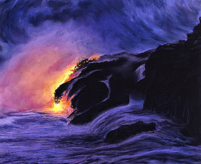 Haleiwa Painting - Dragon Mouth by Stacy Vosberg
