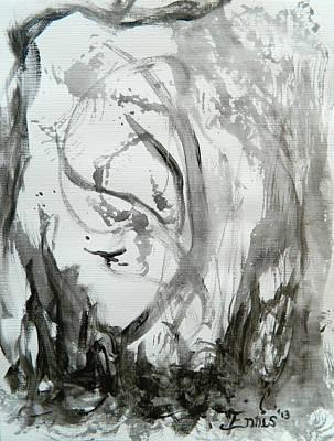 Dragon Vapor Print by Christophe Ennis