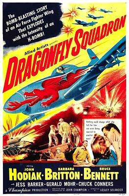 Dragonfly Squadron, Bottom From Left Print by Everett