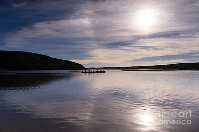 Contemplative Photograph - Drakes Bay Oyster Company At Drakes Estero In Inverness Point Reyes California Dsc2288 by Wingsdomain Art and Photography