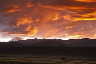 Montana Photograph - Drama After The Storm by Andrew Soundarajan