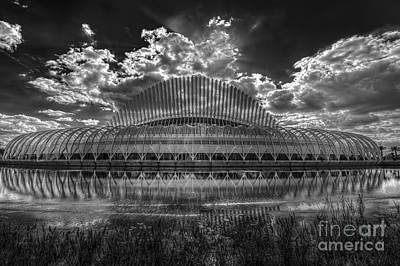 Structure Photograph - Dramatic Sky by Marvin Spates