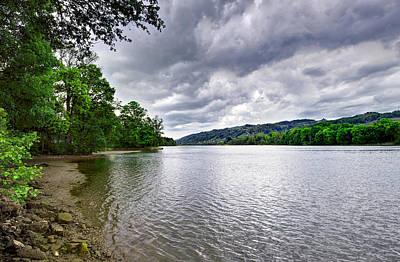 Sky Photograph - Drava River by Ivan Slosar