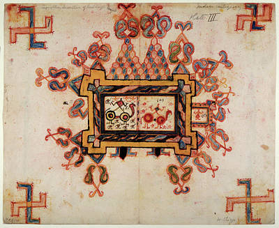 Religious Art Photograph - Drawing For A Wall-painting by British Library