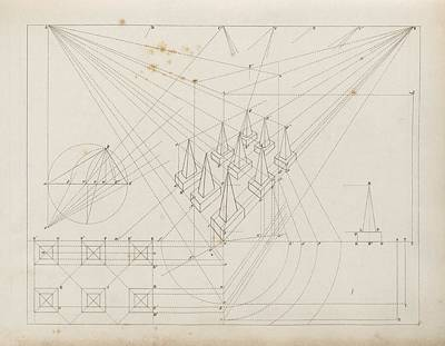 Drawing Linear Perspectives Print by King's College London