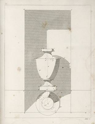 Drawing Shadows Print by King's College London